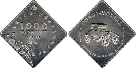 Hungary 1000 forint 2006 - Ford T-model