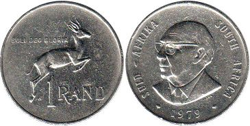 South Africa 1 rand 1979