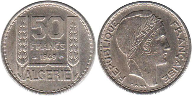 алжирский динар