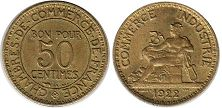France 50 centimes 1922