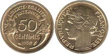 France 50 centimes 1939