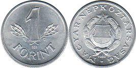 монета Венгрия 1 форинт 1989