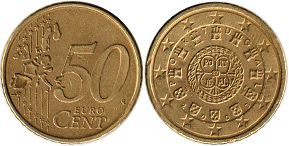 Portugal 50 cents 2005