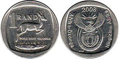 South Africa 1 rand 2008