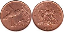 Тринидад и Тобаго 1 цент - Trinidad and Tobago 1 cent 1975