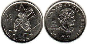 Канада 25 центов - Canada 25 cents 2009