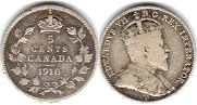 Канада 5 центов - Canada 5 cents 1910