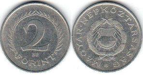 монета Венгрия 2 форинта 1963