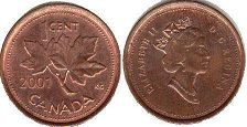 Канада 1 цент - Canada 1 cent 2001