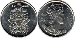 Канада 50 центов - Canada 50 cents 2002