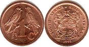 ЮАР 1 цент - South Africa 1 cent 1995