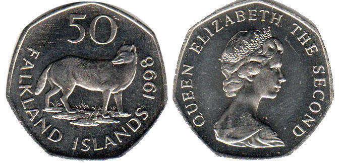Монеты фолклендских островов как почистить медно никелевую монету