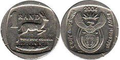 South Africa 1 rand 2004