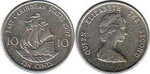 Eastern Caribbean States 10 cents 1997