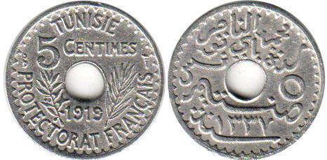 каталог монет туниса