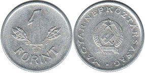 монета Венгрия 1 форинт 1952
