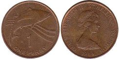 Saint Helena and Ascension 1 penny 1984