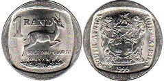 South Africa 1 rand 1995