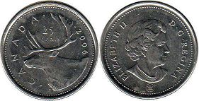 Канада 25 центов - Canada 25 cents 2006