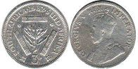 South Africa 3 pence 1932