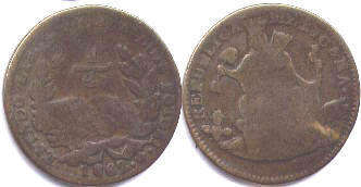 Mexico 1/4 real 1862