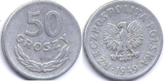 Сколько стоят монеты регулярного чекана польши с 1949 1988 года монеты фрг стоимость каталог