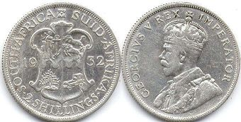 South Africa 2 shillings 1932