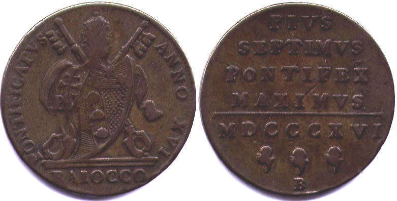 Монеты папского государства 10 рублей 1993 года монета