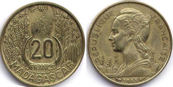 Монеты мадагаскара олимпиада зимняя сочи