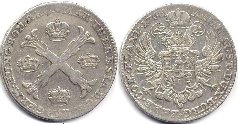 Австрийские нидерланды 25 руб 2017 монета