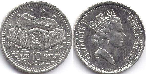монеты гибралтара каталог