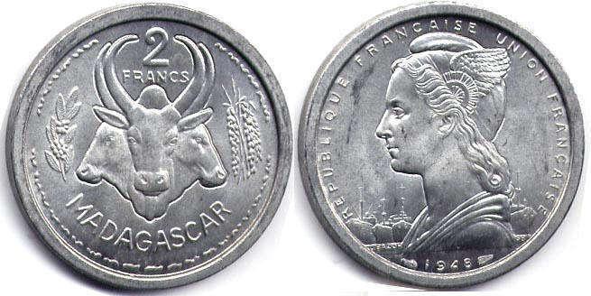 Монеты мадагаскара рубль 1768