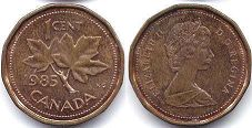 Канада 1 цент - Canada 1 cent 1985