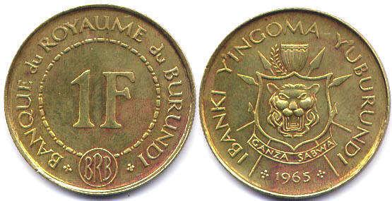 Монеты бурунди каталог 5 фактов о деньгах
