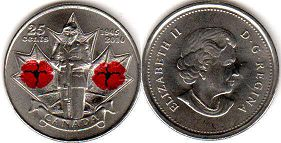 Канада 25 центов - Canada 25 cents 2010