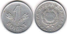 монета Венгрия 1 форинт 1957