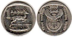 South Africa 1 rand 2007