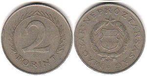 монета Венгрия 2 форинта 1957